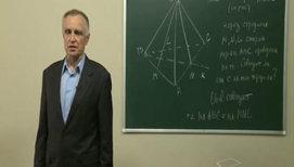 Решение задач на применение аксиом и их следствий (в пирамиде)
