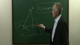 Типовые задачи на применение теоремы о трех перпендикулярах, на угол между прямой и плоскостью