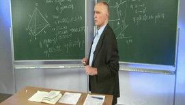 Правильный тетраэдр; угол и расстояние между противолежащими рёбрами