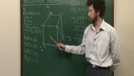 Решение задач с помощью координатного метода