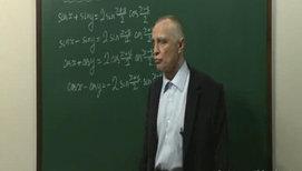Преобразование сумм тригонометрических функций в произведение (задачи)