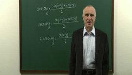 Преобразование произведений тригонометрических функций в сумму (продолжение)