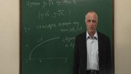 Функции y=(√x)<sup>n</sup>, их свойства и графики. Задачи