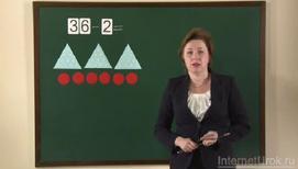 Приёмы вычисления для случаев вида 36 - 2, 36 - 20