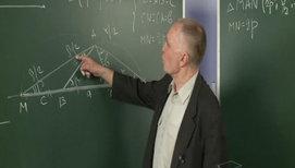Построение треугольника по трём элементам в более сложных случаях